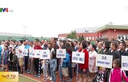 Việt Nam tham dự Giải cây vợt vàng tại CH Czech
