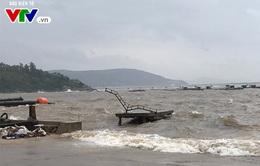 Vỡ cống tiêu nước tại Thanh Hóa