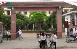 Giám thị kỳ thi học sinh giỏi tỉnh Nghệ An bị tố chép bài cho thí sinh khác