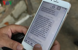 TP.HCM nhắn tin tuyên truyền không lấn chiếm vỉa hè