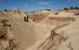 Bộ TN&MT thanh tra 6 mỏ titan tại Bình Thuận
