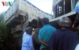 Tiếp tục xảy ra tai nạn giao thông đường sắt ở Bình Định