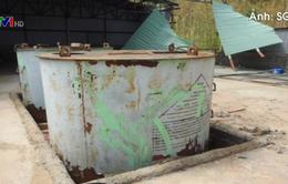 Quảng Bình đề xuất xử lý kho hóa chất phát lộ sau bão số 10