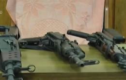 Bắt giữ lượng lớn vũ khí tại Ấn Độ