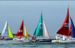 Hàng trăm vận động viên tham gia đua thuyền buồm quốc tế Vũng Tàu Marina Sailing Cup 2017