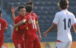 M-150 Cup: Dứt điểm hiệu quả, U23 Việt Nam đại thắng trước U23 Myanmar
