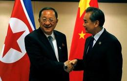 Hội đàm Ngoại trưởng Trung Quốc - Triều Tiên