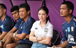 Nữ trưởng đoàn U22 Thái Lan dẫn đội sang Malaysia