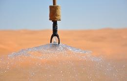 Thiết bị thu giữ nước từ không khí tại sa mạc
