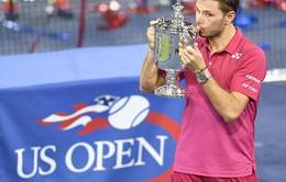 US Open chơi trội, tiếp tục tăng tiền thưởng kỷ lục