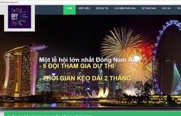 Đà Nẵng tố cáo website giả mạo BTC Festival pháo hoa quốc tế Đà Nẵng