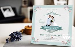 CHÍNH THỨC: Lộ thiệp mời đám cưới của Linh (Nhã Phương) và Junsu (Kang Tae Oh)