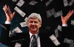 """Gia hạn với Arsenal, """"Giáo sư"""" Wenger có ngay 150 triệu Bảng để mua sắm"""