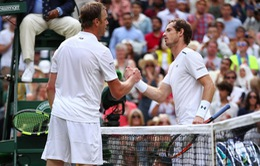 Tứ kết Wimbledon 2017: Sam Querrey biến Andy Murray thành cựu vương