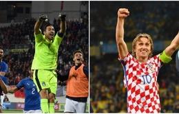 Hôm nay (17/10), bốc thăm play-off World Cup 2018 khu vực châu Âu: Italy, Croatia nín thở