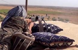 Giao tranh khốc liệt bên trong thành cổ Raqqa, Syria