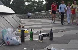 Singapore chống xả rác cộng cộng