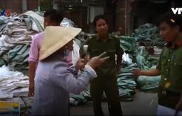 Tiền Giang: Công ty tái chế nhựa gây ô nhiễm, chống người thi hành công vụ