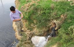 Tăng mức xử phạt hành vi xả nước thải trái phép