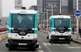 Pháp thử nghiệm hệ thống xe bus không người lái
