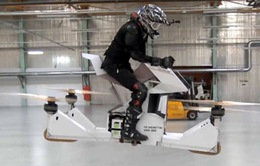 Hoversurf thử nghiệm thành công xe bay cá nhân đầu tiên trên thế giới