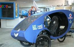 Sinh viên Ai Cập chế tạo xe năng lượng mặt trời cho người khuyết tật