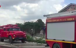 TP.HCM: Căn nhà của đôi vợ chồng già bốc cháy dữ dội