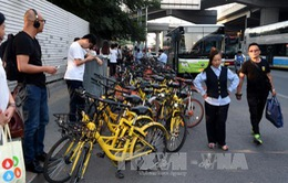 Thành phố Bắc Kinh ban hành hướng dẫn về dịch vụ xe đạp chia sẻ