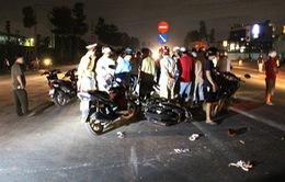 Bình Phước: Hai xe máy gây tai nạn liên hoàn, 4 người thương vong