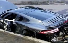Phá hủy siêu xe sau khi… chạy thử