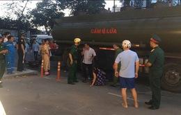 TP.HCM: Va chạm với xe bồn chở xăng dầu, 1 người tử vong