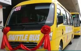 Đầu tư xe bus 5 sao tại sân bay Tân Sơn Nhất