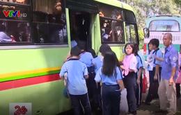 Tỷ lệ học sinh tại TP.HCM sử dụng xe bus thấp