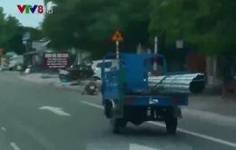 Xe cơ giới 3 bánh ngang nhiên hoạt động tại Khánh Hòa bất chấp lệnh cấm