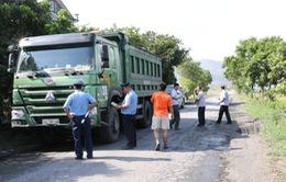 Lâm Đồng: Ra quân kiểm soát xe quá khổ, quá tải