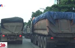 Tái diễn tình trạng xe quá tải trên các tuyến quốc lộ