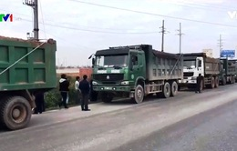 Tăng cường xử lý xe quá tải trên Quốc lộ 5