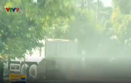 Người dân Khánh Hòa bức xúc vì xe chở đá gây ô nhiễm bụi