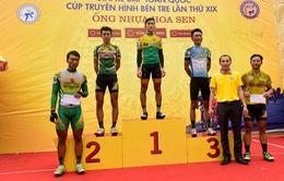 Chặng 8 Giải xe đạp toàn quốc cúp truyền hình Bến Tre 2017: Nguyễn Minh Luận về nhất chặng