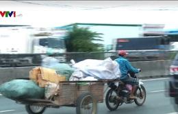 Xe 3 bánh tự chế ngang nhiên hoạt động tại Khánh Hòa