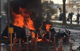 Lại xảy ra vụ nổ bom xe tại Thổ Nhĩ Kỳ