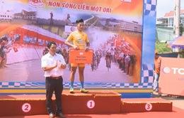 Huỳnh Thanh Tùng xuất sắc giành chiến thắng chặng 4 Giải đua xe đạp TQ tranh Cúp truyền hình TP. Hồ Chí Minh