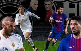 Real Madrid - Barcelona: Hồi hộp chờ Siêu kinh điển (19h00 hôm nay, 23/12)