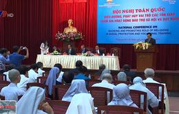 Phát huy vai trò của tôn giáo trong hoạt động bảo trợ xã hội và dạy nghề