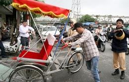 Hà Nội chấn chỉnh hoạt động xe xích lô
