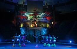 Sân khấu xiếc hấp dẫn khán giả nhí Thủ đô