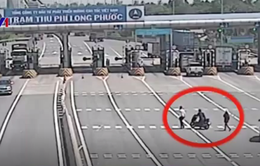 Gia tăng tình trạng xe máy chạy vào đường cao tốc