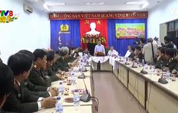Lãnh đạo TP Đà Nẵng chúc Tết Công an Đà Nẵng