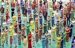 Khai mạc lễ hội xường xám ở Trung Quốc