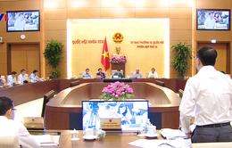 Quốc hội cho ý kiến về Luật Quy hoạch và Luật Tổ chức tín dụng
